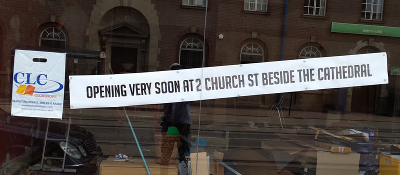 CLC Bookshops Sheffield is moving at the end of April!!