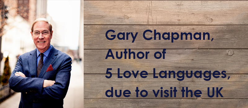 Author of 5 Love Languages due to visit the UK