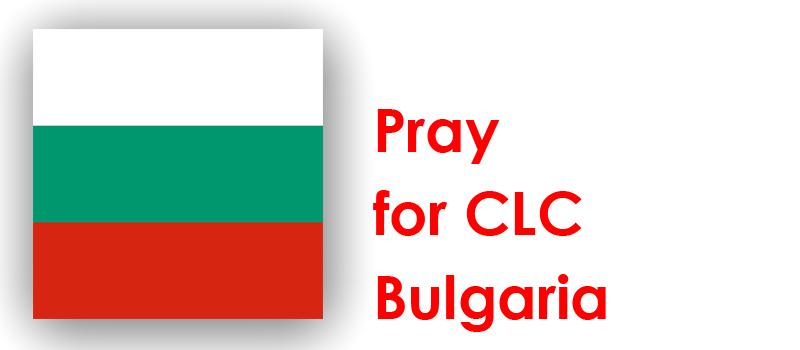 Monday (10th) – Pray for CLC Bulgaria
