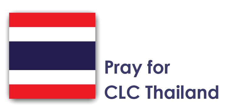 Friday (21st) – Pray for CLC Thailand