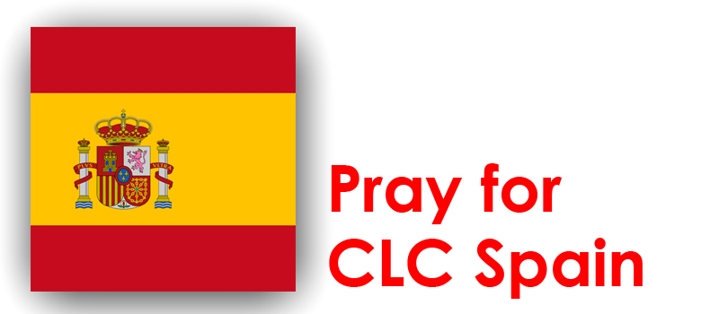 Thursday (11th) – Pray for CLC Spain