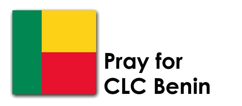 Thursday (1st) – Pray for CLC Benin