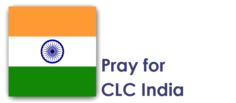 Wednesday (14th) - Pray for CLC India