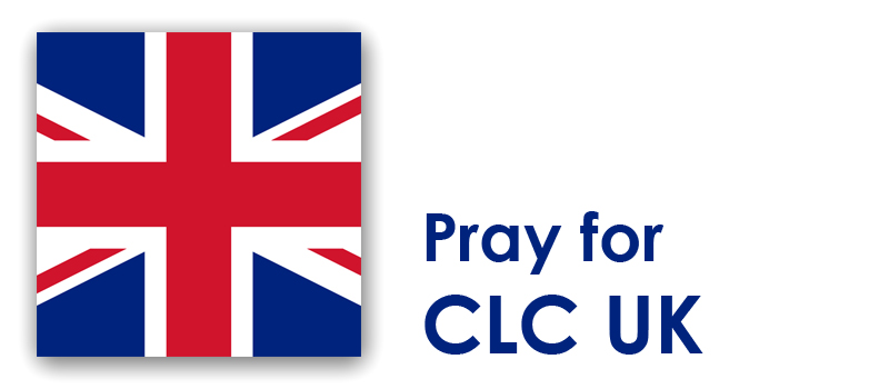 Saturday/Sunday (24th/25th)  – Pray for CLC UK