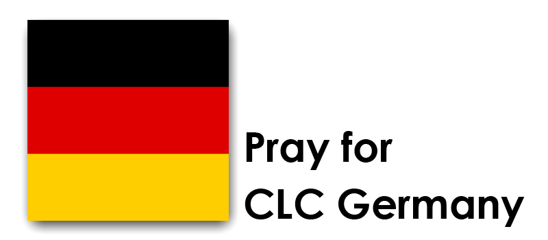 Tuesday (27th) – Pray for CLC Germany