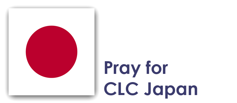 Tuesday - Pray for CLC Japan