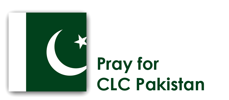 Tuesday - Pray for CLC Pakistan