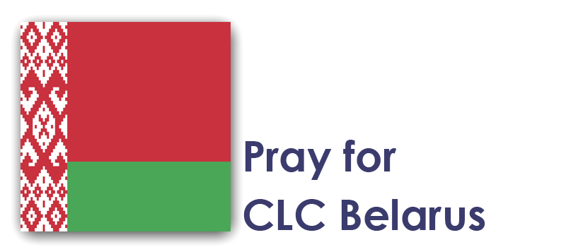 Tuesday 15th - Pray for CLC Belarus: