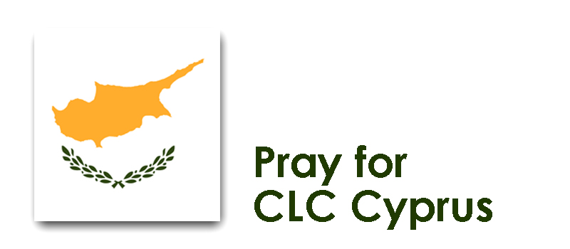 Monday 21st - Pray for CLC Cyprus: