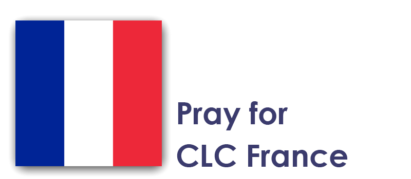 The Weekend 26th / 27th - Pray for CLC France: