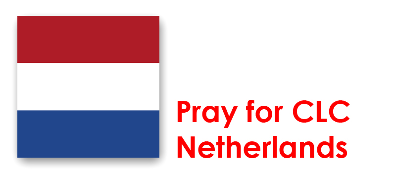 Friday 1st - Pray for CLC Netherlands: