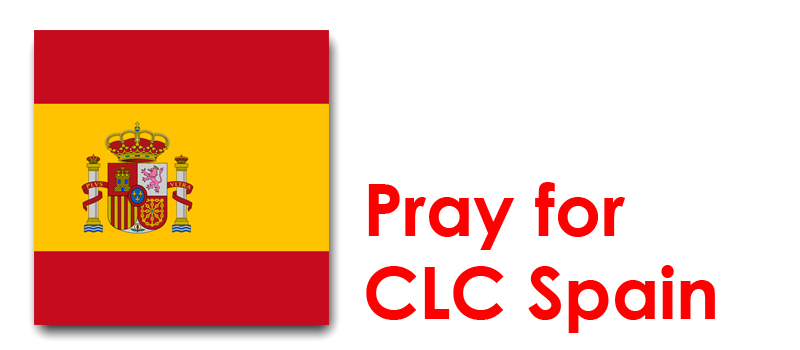 The Weekend 9th /10th - Pray for CLC Spain:
