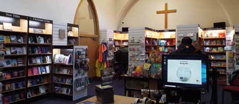 CLC Blackpool bookshop move into St John's Church