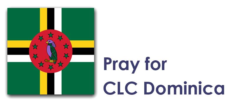 Prayer Focus - week 23, The Weekend - Dominica