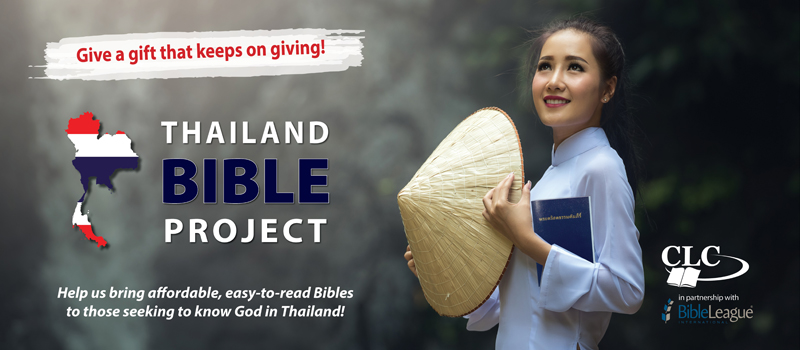 Give a gift that keeps on giving - Thailand Bible Project