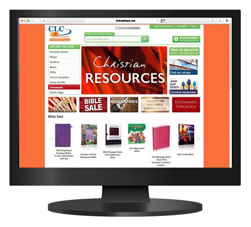 CLC Bookshops website - Shop finder: CLC International (UK)